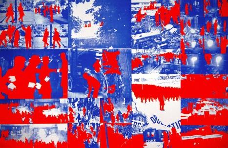 Gérard Fromanger, Le Rouge, ensemble de 10 serigraphies1968.jpg