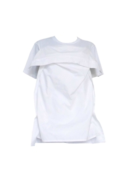 07MOQ pillow tshirt white